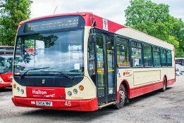 Dennis Super Dart 43 seat single deck service bus Registration Number: DK04 MKF Date of