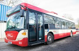 Scania OmniCity 33 seat single deck service bus Registration Number: MIG 8174 Date of