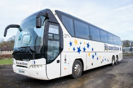 Neoplan Tourliner L 61 seat luxury coach Registration Number: OU65 RHF Date of Registration: 02/09/