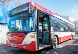 Scania OmniCity 33 seat single deck service bus Registration Number: MIG 8168 Date of