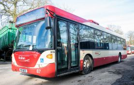 Scania OmniCity 33 seat single deck service bus Registration Number: MIG 8170 Date of