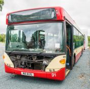 Scania OmniCity 33 seat single deck service bus Registration Number: MIG 8175 Date of