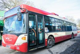 Scania OmniCity 33 seat single deck service bus Registration Number: MIG 8169 Date of