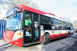 Scania OmniCity 33 seat single deck service bus Registration Number: MIG 8167 Date of