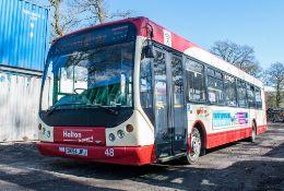 Dennis Super Dart 42 seat single deck service bus Registration Number: DK54 JPJ Date of