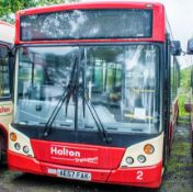 Alexander Dennis Enviro 200 40 seat single deck service bus Registration Number: AE57 FAK Date of