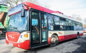Scania OmniCity 33 seat single deck service bus Registration Number: MIG 8164 Date of