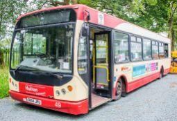 Dennis Super Dart 43 seat single deck service bus Registration Number: DK54 JPU Date of