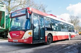 Scania OmniCity 33 seat single deck service bus Registration Number: MIG 8163 Date of