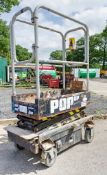Pop Up Plus push along battery electric access platform 08FP0025
