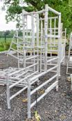 Aluminium podium frame ** No boards ** 10204