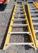 10 tread glass fibre framed step ladder 3328-0760