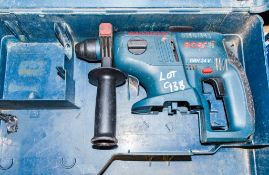 Bosch GBH 24v cordless SDS rotary hammer drill c/w carry case ** No battery or charger **