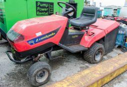 Castel Garden petrol driven ride on lawnmower ** Cutting deck rotten ** ** No VAT on hammer price