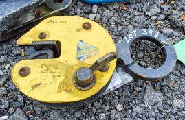 Camlock plate clamp A731566