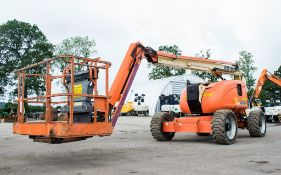 JLG 600AJ diesel driven 4WD articulated boom access platform Year: 2007 S/N: 23275 Recorded Hours: