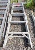 5 tread aluminium step ladder WOXAA340