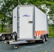 Ifor Williams BV106G tandem axle box trailer S/N: 50447482 ** No VAT on hammer price but VAT will