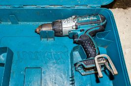 Makita cordless power drill c/w carry case ** No battery or charger **