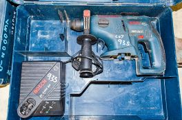 Bosch GBH 24v cordless SDS rotary hammer drill c/w charger & carry case ** No battery **