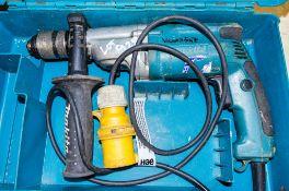 Makita 110v power drill c/w carry case