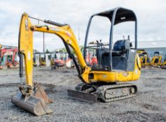 JCB 8014 CTS 1.5 tonne rubber tracked mini excavator Year: 2011 S/N: 1627296 Recorded Hours: 1655