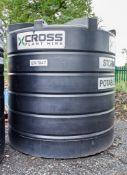 Enduramax 10,000 litre plastic water tank EN1947