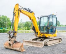 JCB 8050 RTS 5 tonne rubber tracked excavator  Year: 2013 S/N: 741951 Recorded Hours: 2673 Piped,