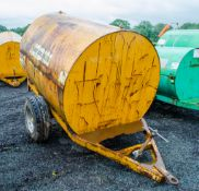 Trailer Engineering 500 gallon site tow bunded fuel bowser c/w hand pump, delivery hose, and