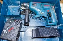 Bosch GBH 24v cordless SDS rotary hammer drill c/w carry case and charger ** No battery **