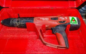 Hilti DX460 nail gun c/w carry case A693134