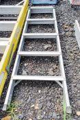 5 tread aluminium step ladder WOXAA413
