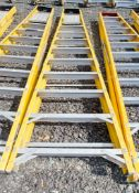 10 treadglass fibre framed step ladder 3328-0802