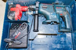 Bosch GBH 24v cordless SDS rotary hammer drill c/w battery, charger & carry case