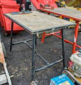 Collapsible site bench