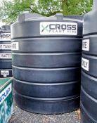 Enduramax 10,000 litre plastic water tank