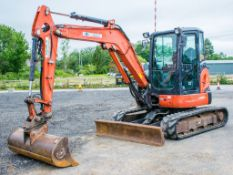Kubota U48-4 4.8 tonne rubber tracked midi excavator Year: 2011 S/N: 50555 Recorded Hours: 5503