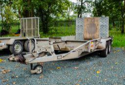 "Bateson 10' by 5'6"" tandem axle plant trailer S/N: 43623 18014"