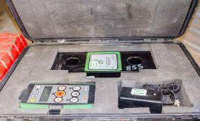 TL2.0 PRO 12.5 tonnedigital load indicator c/w carry case & remote A775812