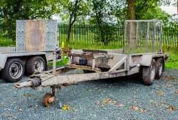 Indespension 8' by 4' tandem axle plant trailer A671152