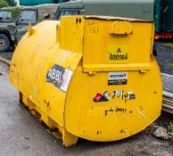 Western Abbi 2000 litre static bunded fuel bowser *no pump or hoses* A606564