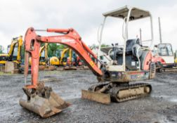 Kubota KX36-3 1.5 tonne rubber tracked mini excavator Year: 2008 S/N: Z077877 Recorded Hours: 3548