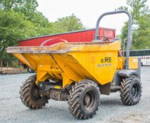 Terex TA3 3 tonne straight skip dumper  Year: 2014 S/N: PA6239 Recorded hours: 1102 3889