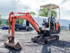 Kubota KX36-3 1.5 tonne rubber tracked excavator Year: 2005 S/N: 56816 Recorded Hours: 3559 blade,