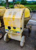 Winget electric start diesel driven site mixer 3806