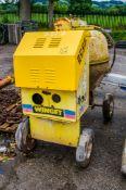 Winget electric start diesel driven site mixer 3517