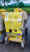 Winget electric start diesel driven site mixer 3820