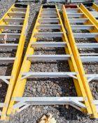 10 treadglass fibre framed step ladder 1404-0671