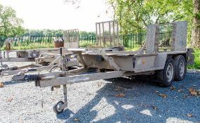 Ifor Williams GH 94 9' by 4' tandem axle plant trailer S/N: 595707