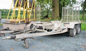 Indespension 8ft x 4ft tandem axle plant trailer A648617